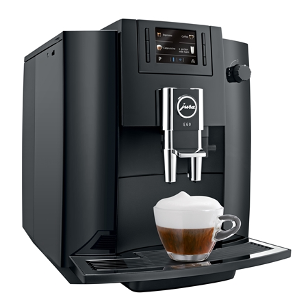 Jura E60 Piano Black Espressomachine
