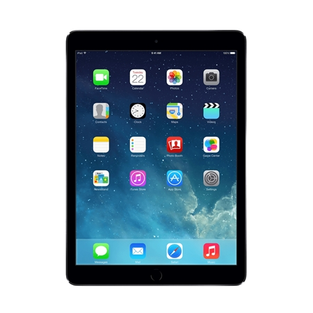 Apple iPad Air 32GB Wifi Zwart/Space grey (Refurbished A)
