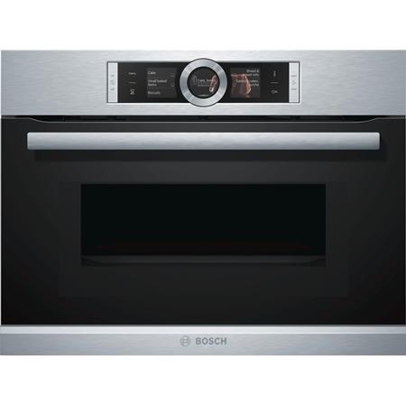 Bosch CMG636BS2 inbouw combi oven
