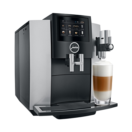 Jura S8 Moonlight Silver Espressomachine