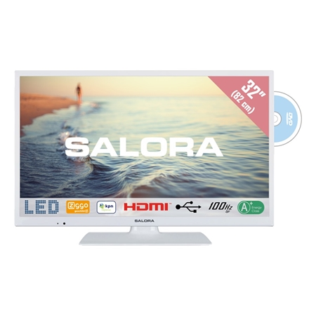 Salora 32HDW5015 HD LED TV met ingebouwde DVD-speler