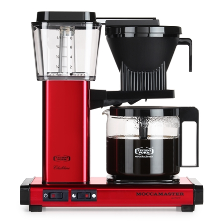 MOCCAMASTER KBG741 AO RED METALLIC