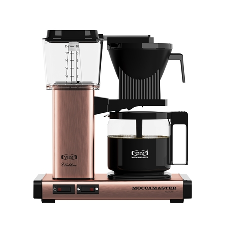 Moccamaster KBG741 AO Copper koffiezetapparaat