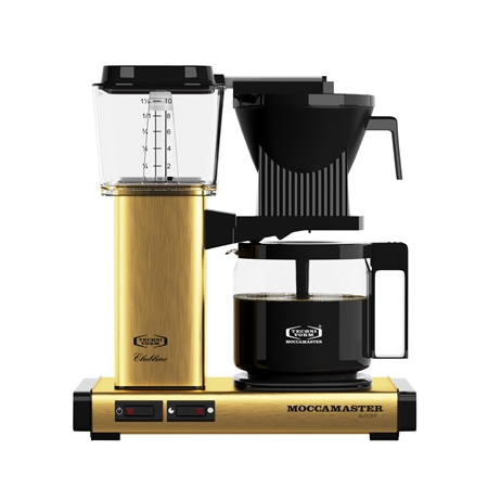 MOCCAMASTER KBG741 AO BRUSHED BRASS