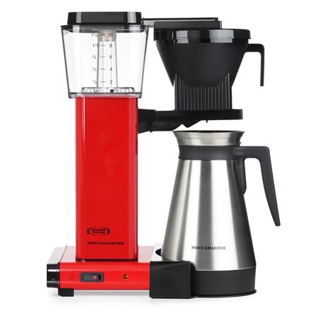 MOCCAMASTER KBG THERMOS RED koffiezetapparaat