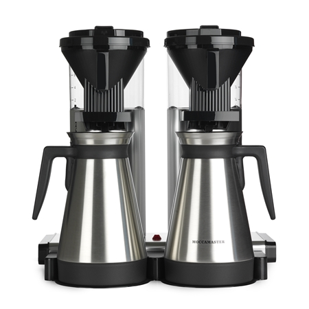 MOCCAMASTER CDGT 20 POLISHED Koffiezetapparaat