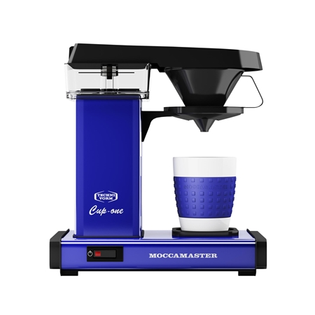 MOCCAMASTER CUP-ONE ROYAL BLUE Koffiezetapparaat