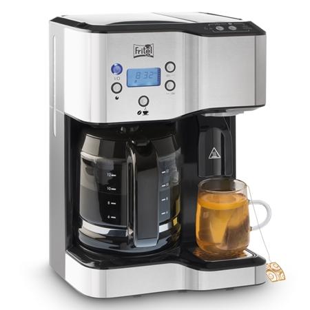 Koffiezetter en waterkoker in 1