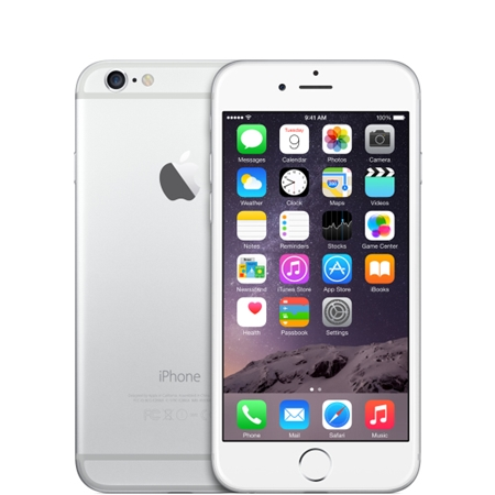 Apple iPhone 6 64GB Wit/Silver (Refurbished A)