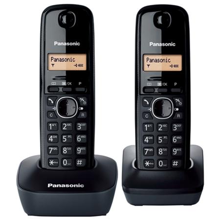 Panasonic KX-TG1612NLH zwart Huistelefoon