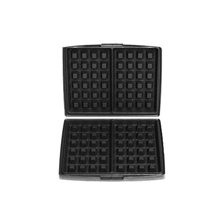 Fritel Set bakplaten Brusselse/Luikse wafels 4 x 6