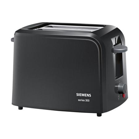 Siemens TT3A0103 zwart Broodrooster