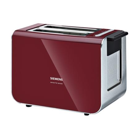 Siemens TT86104 rood-zwart Broodrooster