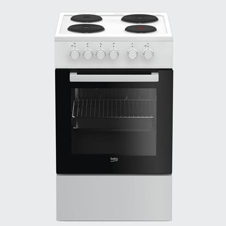 Beko FSS56000GW Elektrisch Fornuis