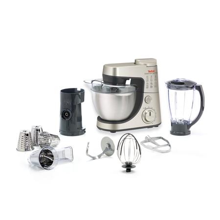 Tefal QB404H zilver Keukenmachine & Foodprocessor