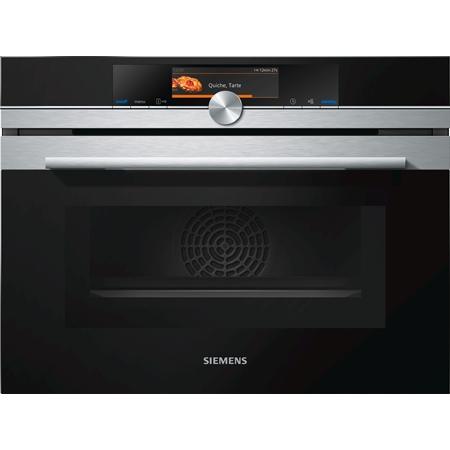 Siemens CM678G4S1 inbouw combi oven