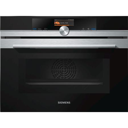 Siemens CM636GBS1 inbouw combi oven