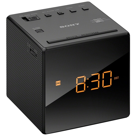 Sony ICF-C 1 B Wekkerradio