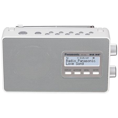 Panasonic RF-D10EG-W Draagbare DAB+ radio