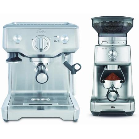 Solis Barista 118 espressomachine & Caffissima 1611 Bundel