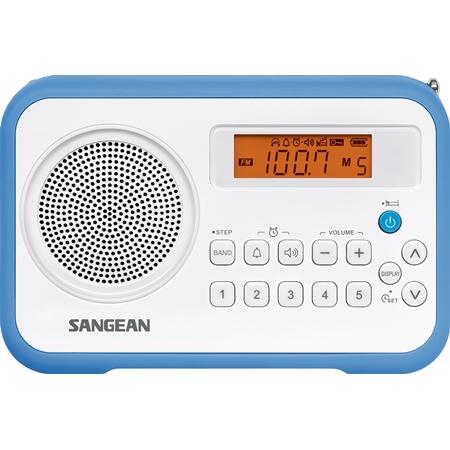 Sangean PR-D18 wit-blauw