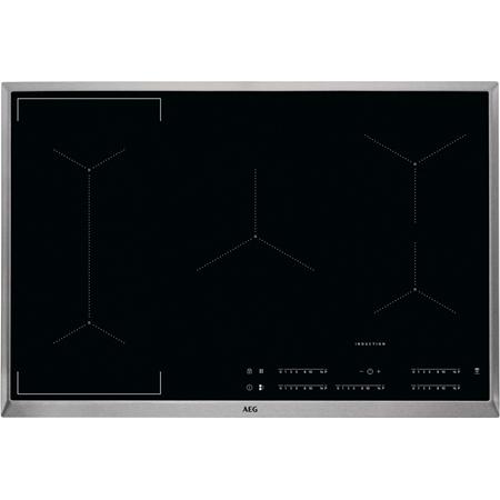 AEG IKE85441XB Bridge Hob2Hood 80 cm inductie kookplaat