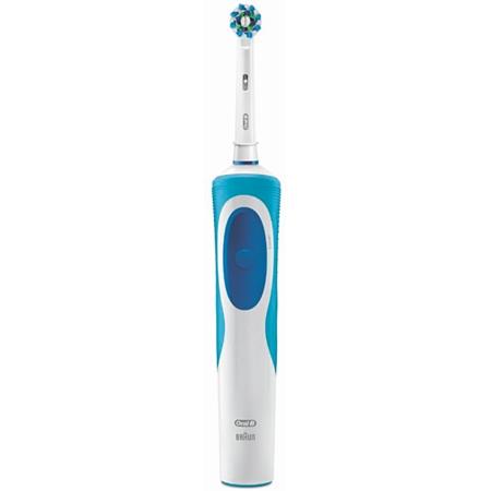 Braun (Delonghi) Vitality CrossAction Basic CLS wit-blauw Elektrische Tandenborstel