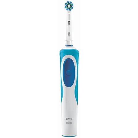 Oral-B Vitality CrossAction Basic CLS wit-blauw Elektrische Tandenborstel
