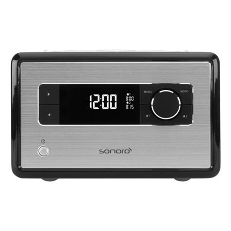 Sonoro SO-110BL zwart wekkerradio