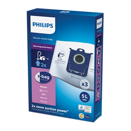 Philips FC8027/01 Ultra Long Performance Stofzuigerzakken