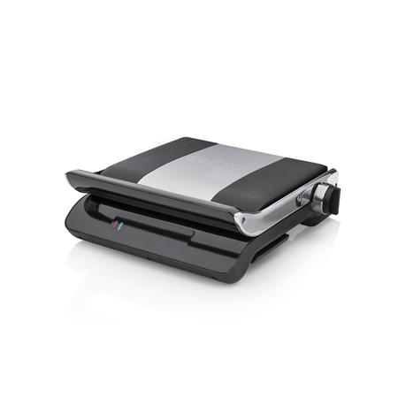 Princess 117204 Comfort Pro zwart-RVS Panini Grill