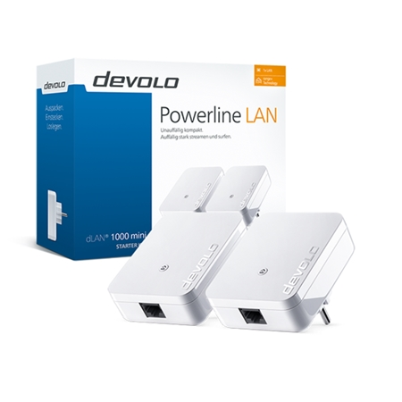Devolo dLAN 1000 mini Starter Kit Powerline