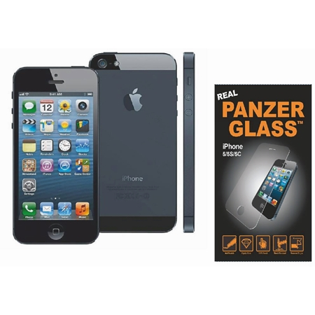 Iphone 5S Refurbished (A) + Panzer Glascover