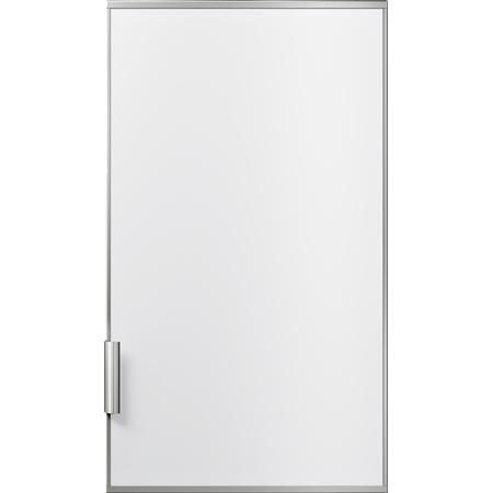 Siemens KF30ZAX0 Deur met decoratief deurframe en aluminium handvat