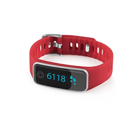 Medisana ViFit Touch Activity Tracker rood