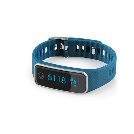 Medisana ViFit Touch Activity Tracker blauw