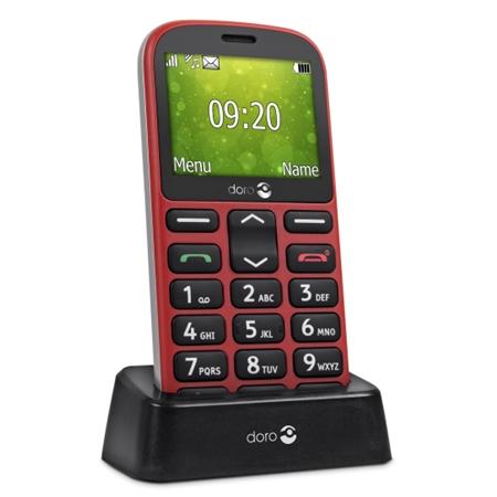 Doro 1361 Rood Senioren telefoon