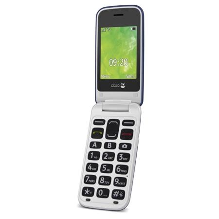 Doro 2414 Blauw/Wit Senioren telefoon