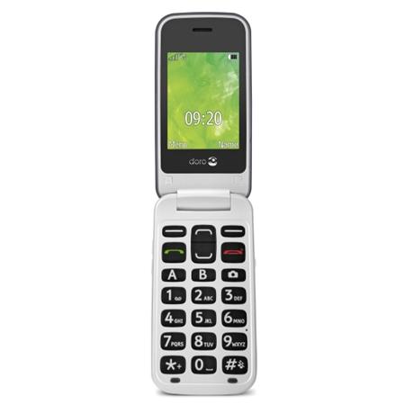 Doro 2414 Zilver/Wit Senioren telefoon