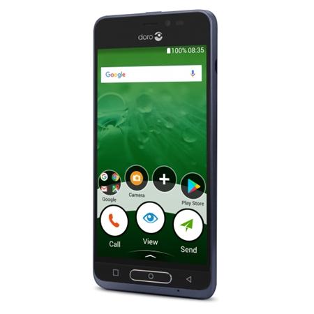 Doro 8035 donkerblauwe Smartphone