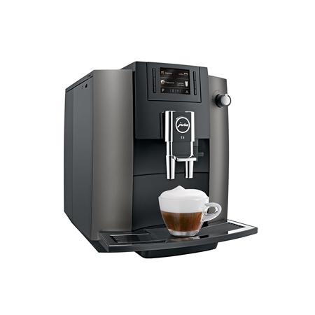Jura E6 Dark Inox Espressomachine