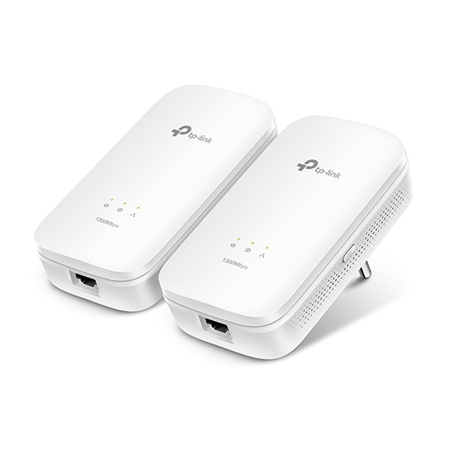 TP-LINK Powerline TL-PA8010 Kit Geen Wifi 1200 Mbps 2 adapters
