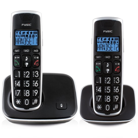 Fysic FX-6020 Seniorentelefoon met twee handsets
