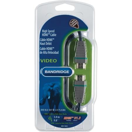 Bandridge BVL1003 HDMI-kabel (3 meter)