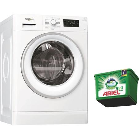 Whirlpool FWG81496WSE NL Wasmachine (gratis Ariel Pods)