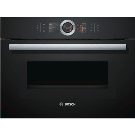 Bosch CMG676BB1 inbouw oven met magnetron