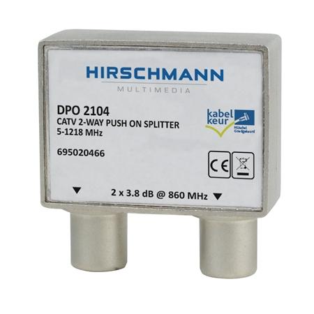 Hirschmann DPO2104 Opdruk tweeverdeler