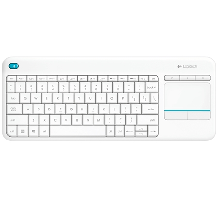 Logitech K400 Plus Wireless Touch Keyboard Wit