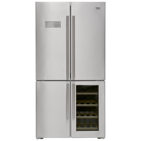 Beko GN1416220CX Amerikaanse koelkast