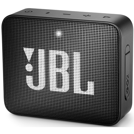 JBL GO 2 Midnight Black Bluetooth Speaker